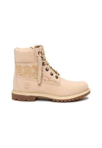 Timberland beige Timberland® Icon 6-Inch Premium Waterproof Boots B1E8ASH7E5BB08GS_1