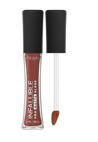 L'Oréal Paris brown L'Oreal Paris Infallible Pro-Matte Liquid Lip Gloss - 316 Statement Nude E9B98BEF1CCFD1GS_1