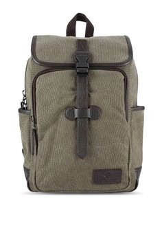 c9a61c5917 Lumberjacks. Canvas Backpack