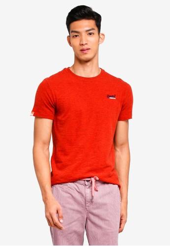 Superdry orange Orange Label Vintage Emb Short Sleeve Tee E07D1AA674E994GS_1