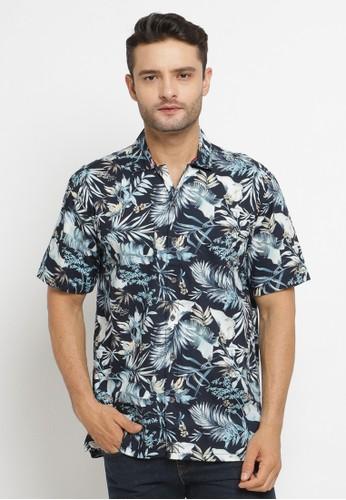 Poshboy navy Poshboy Shirt Calaghan SF-6KV-XCN 4B991AA78989A6GS_1