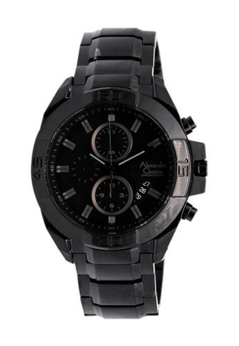 Alexandre Christie black Alexandre Christie 6224 - Jam Tangan Pria - Stainless Steel - Hitam 6A16FACACD6634GS_1