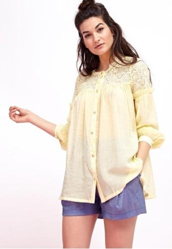 縷esprit outlet 桃園空輕薄罩衫, 服飾, 上衣