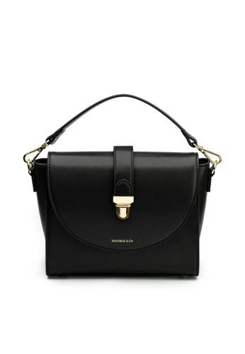 Maverick & Co. black Maverick & Co. Athena Lustre Crossbody Bag (Night Black) 53524ACD1BBF09GS_1