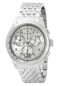 Vintage Men 47mm Case Stainless Steel Strap Watch 10747