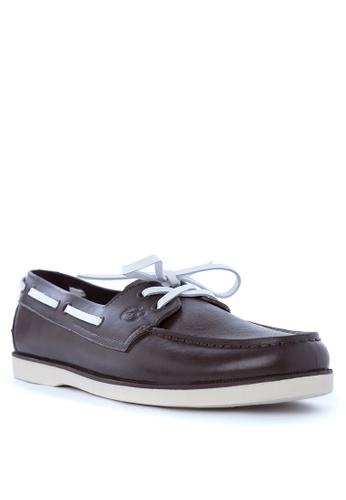 Easy Soft By World Balance brown Malibu Boat Shoes 7C97FSH757A971GS_1