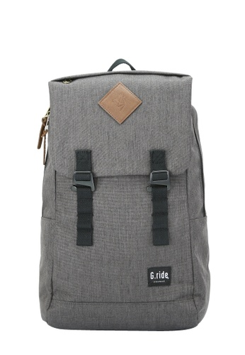 G.ride grey Albert Backpack 17901AC254D291GS_1