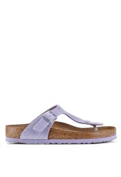 efbfdaacd22 Birkenstock purple Gizeh Magic Galaxy Soft Footbed Sandals  5DA37SHD31B4B7GS_1