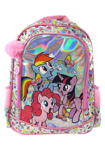 My Little Pony pink My Little Pony Laser Primary Backpack (16-inch) EDB4BKCF7E91DFGS_1