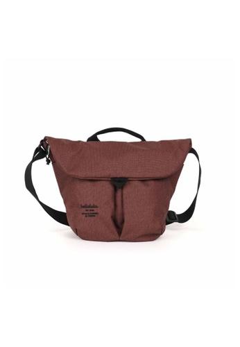 Hellolulu red Hellolulu Kasen Maisema Shoulder Bag (Merlot Wine) 600ABAC8FAE463GS_1
