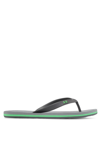 Under Armour green UA M Atlanticdune T Flip Flops UN337SH0STZLMY_1