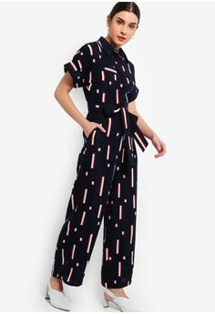 5c62048141 10% OFF ZALORA Shirt Jumpsuit RM 119.00 NOW RM 106.90 Sizes XS S M L XL