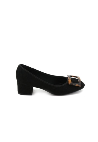 BATA Bata Women Black Heels - 6116220 1B404SHF669E8DGS_1