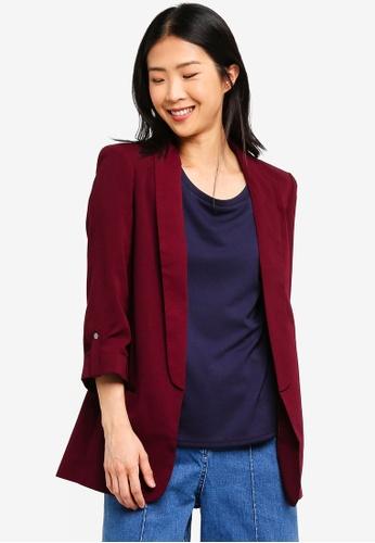 On Buy Vero Moda Zalora Sleeve 34 Singapore Yiki Blazer Online xvq1AHqTnw
