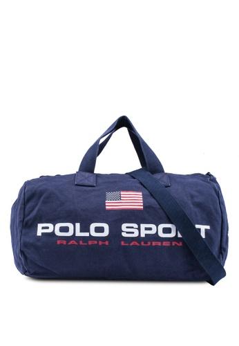 polo ralph lauren navy Polo Sport Canvas Duffel 1606BACD074E07GS_1
