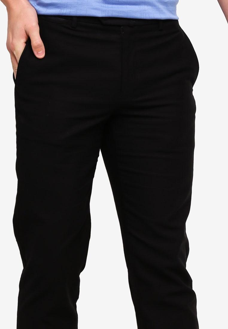 BLACK Black Pants D'urban Casual Casual Pants Black qwSTHyp