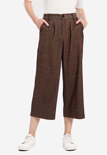 LC Waikiki brown Regular Waist Large Trousers 597BEAA9FE4DE6GS_1