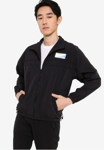 361° black Basketball Series Jacket 8852BAA25FA628GS_1