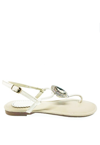 Twenty Eight Shoes white Diamond Crystal Sandal A8-128 A589ASH1FC8BE4GS_1