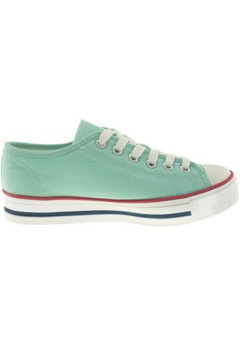 Maxstar green Maxstar Women's C1 6 Holes Canvas Low Top Casual Sneakers US Women Size MA164SH82PRDSG_1