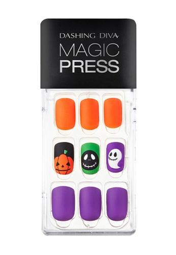 Dashing Diva purple Dashing Diva 1 SEC. MAGIC PRESS Manicure Jack or Lantern / Press on Nails /Nail Tips 5FEB1BEC863F75GS_1
