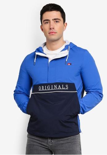 Jack & Jones 藍色 Jordaniel 連帽外套 2FB76AAF75EE9AGS_1