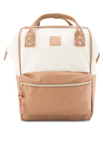 簡約仿皮後背包, zalora taiwan 時尚購物網包, 後背包