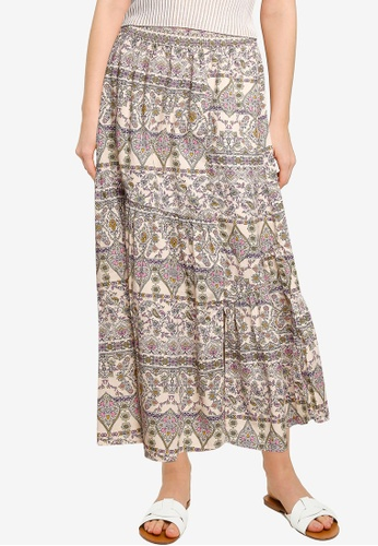 Free People multi All About The Tiers Skirt 653C8AA5AEE4C1GS_1