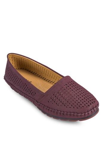 雕花懶zalora 內衣人鞋, 女鞋, 鞋