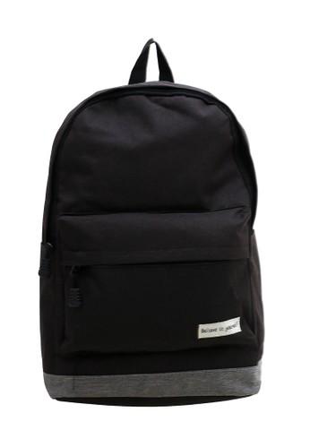 Hamlin black Hamlin Doomb Tas Ransel Pria Wanita Korean Style Backpack Adjustable Strap Material Kanvas ORIGINAL BF764AC51A117BGS_1