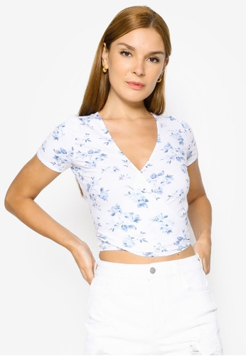 Hollister white Multiway Tee 6D0E2AAB66EAA3GS_1