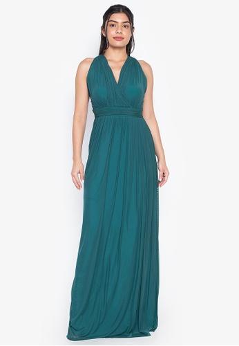 Tantease green Drina Evening Dress B432DAA89145D3GS_1