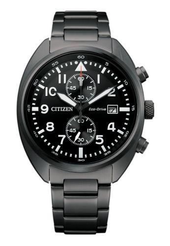 Citizen black Citizen Eco-Drive CA7047-86E Black Stainless Steel Watch C43F9AC327CE48GS_1