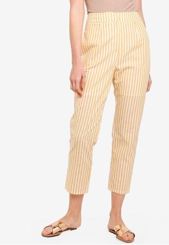 Zalia yellow Tailored Pants 0199EAAD85C0B2GS_1
