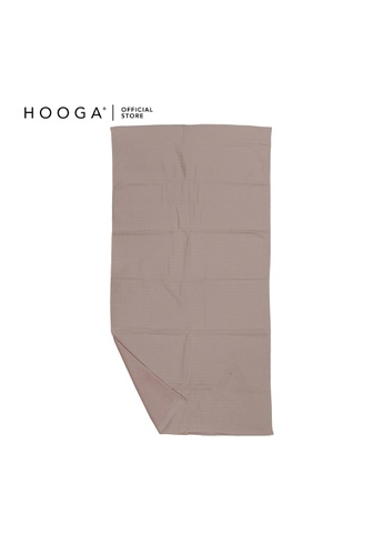 HOOGA pink Hooga Bath Towel Marta. 26EB9HL47C884CGS_1
