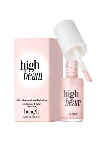 Benefit pink High Beam Satiny Pink Complexion Highlighter 4BD60BE1EE3EE2GS_1