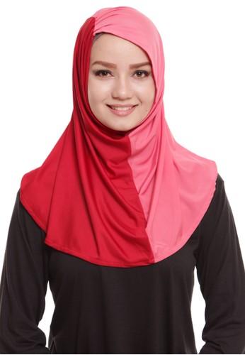 Mybamus Two Tone Serut Syria Red - Pink Baby