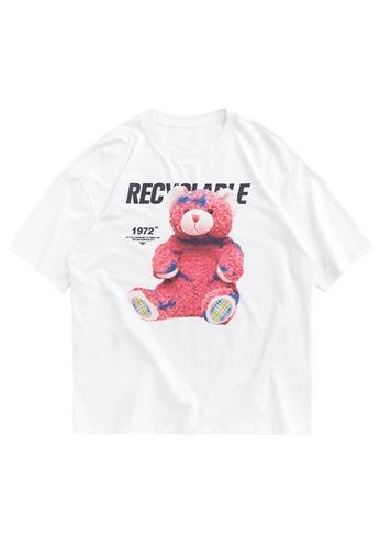 Twenty Eight Shoes Trend Printed Short T-shirt 1237S20 B57ADAA55B7CAFGS_1