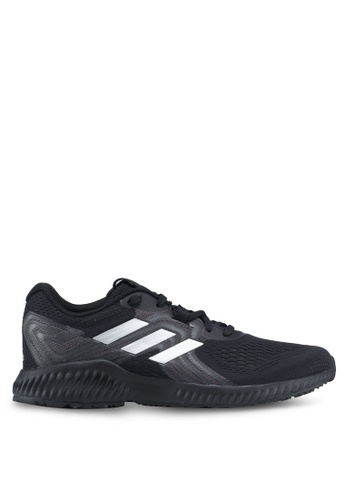 adidas black adidas performance aerobounce 2 sneakers AABE8SHE274DABGS_1