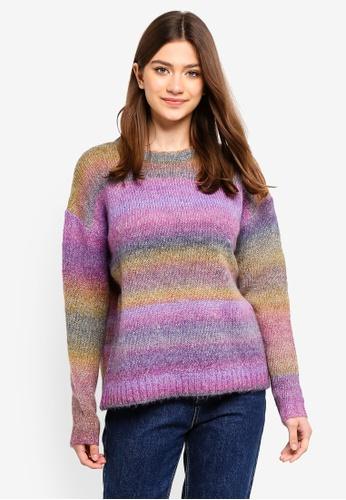 MbyM multi Reflection Pastel Knit Sweatshirt CDDD5AABF8DE38GS_1