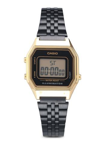 Casio 黑色 Casio LA680WEGB-1ADF 手錶 CFE7DAC9C67FC2GS_1