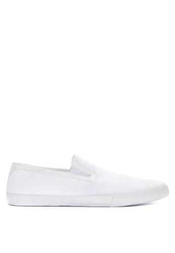 Topman white Keys Knit Slip on White 4B070SH6C63242GS_1