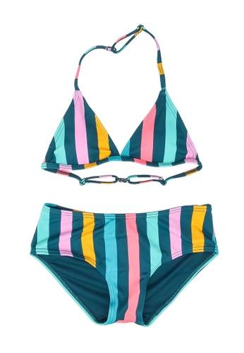 Shiwi multi Girls Sunkissed Triangle Bikini Set C39A5KA308A2ABGS_1