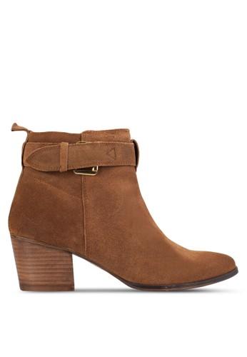 Dothan 扣環粗跟短靴esprit 折扣, 女鞋, 鞋