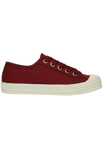 paperplanes red Paperplanes-1350 Casual Low Top Flats Canvas Sneakers Shoes US Women Size PA355SH19PIASG_1