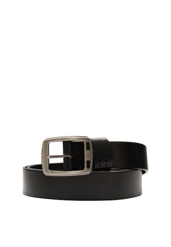 SEMBONIA black SEMBONIA Men Casual Leather Belt   C903BAC44AB524GS_1