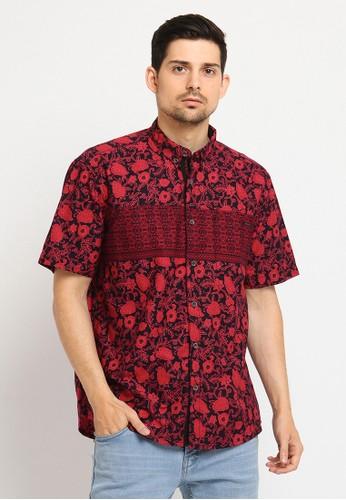 Poshboy red Poshboy Shirt jayanegara 5AAF9AA440EA6AGS_1