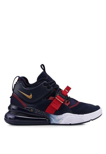 Nike navy Nike Air Force 270 Shoes 73AC5SHE5905B1GS_1