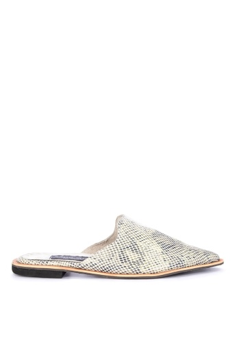 70c41facc Shop Julianne Candice PH Mule Snake Skin Online on ZALORA Philippines