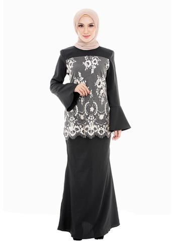 IRDINA KURUNG from Rasa Sayang in Black